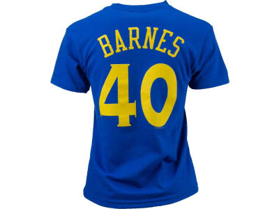 Golden State Warriors Harrison Barnes NBA Youth Name And Number T-Shirt