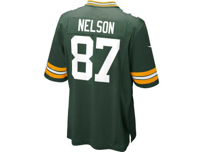 Green Bay Packers Jordy Nelson Nike NFL Men's Game Jersey