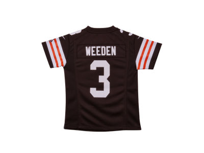 Cleveland Browns Brandon Weeden Nike NFL Youth Game Jersey