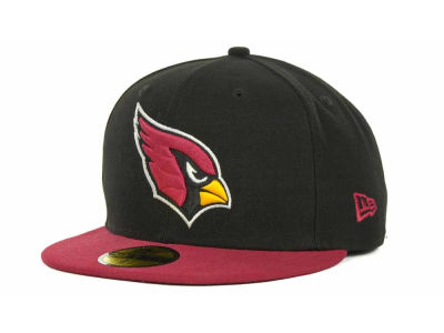 Arizona Cardinals New Era NFL Black Team 59FIFTY Cap