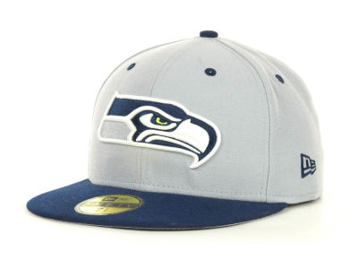 Seattle Seahawks New Era NFL 2 Tone 59FIFTY Cap