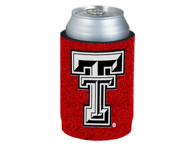 Texas Tech Red Raiders Glitter Can Coozie