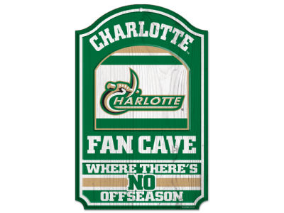 Charlotte 49ers 11x17 Wood Sign