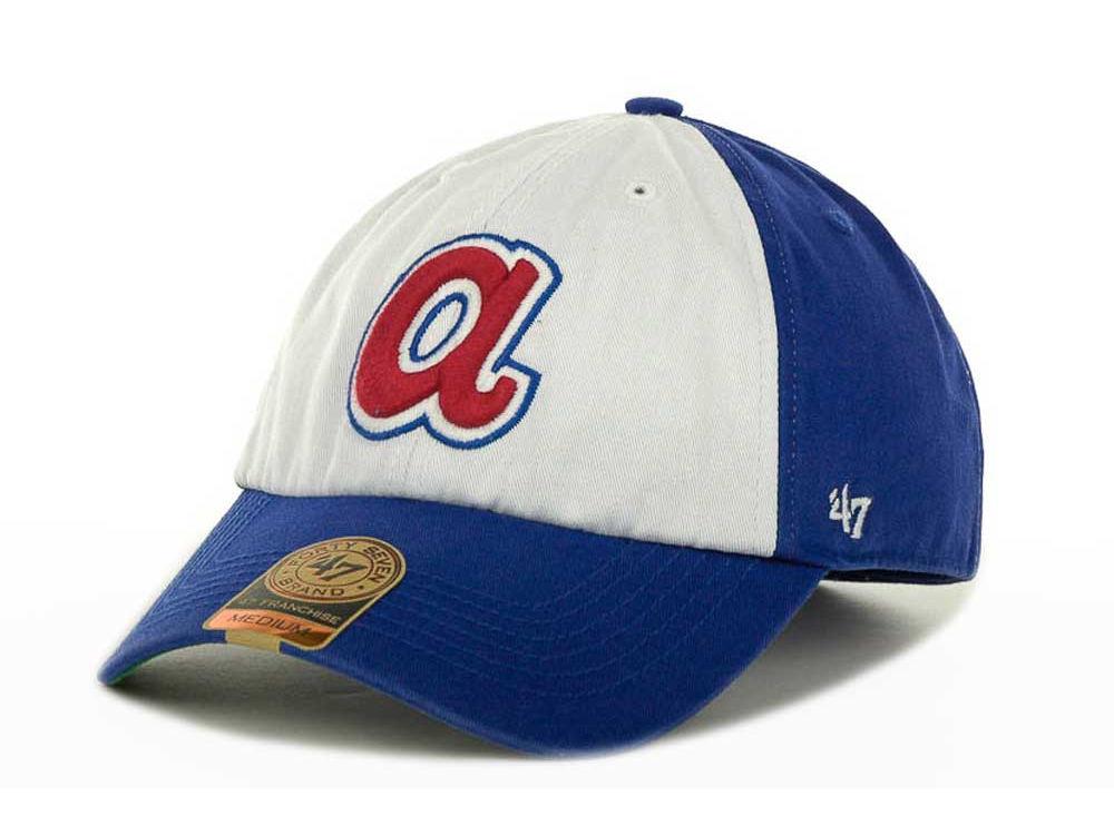 5f48097b51d Atlanta Braves  47 MLB  47 FRANCHISE Cap
