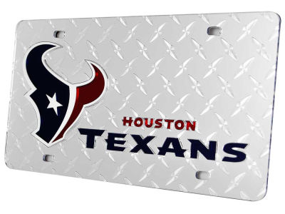 Houston Texans Diamond Acrylic Laser Tag