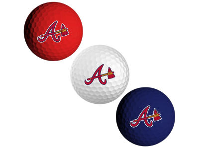 Atlanta Braves 3-pack Golf Ball Set
