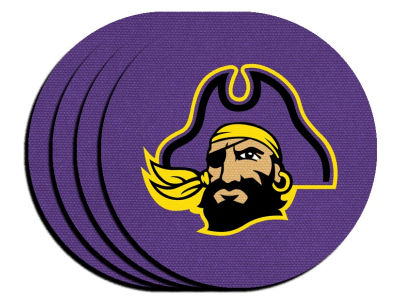 East Carolina Pirates 4-pack Neoprene Coaster Set