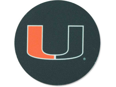 Miami Hurricanes 4-pack Neoprene Coaster Set