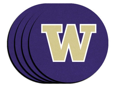 Washington Huskies 4-pack Neoprene Coaster Set