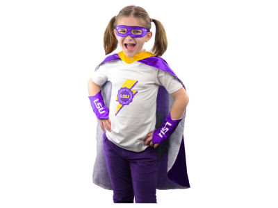 LSU Tigers Youth Superhero Outfit