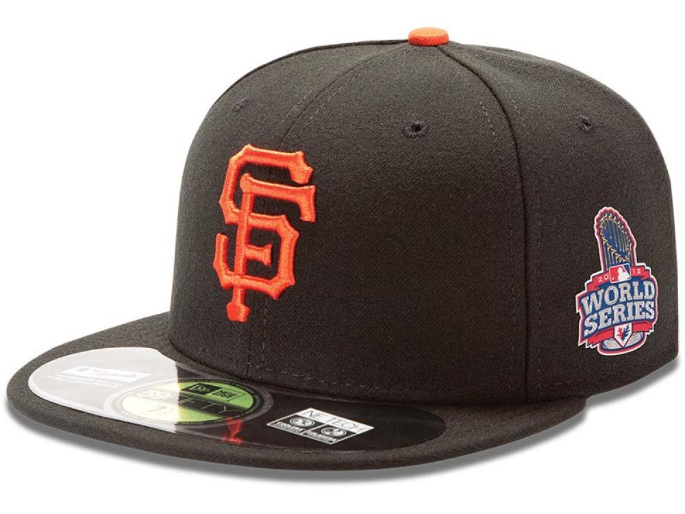 e822e75f9a5 San Francisco Giants New Era MLB 2012 World Series Patch 59FIFTY Cap ...
