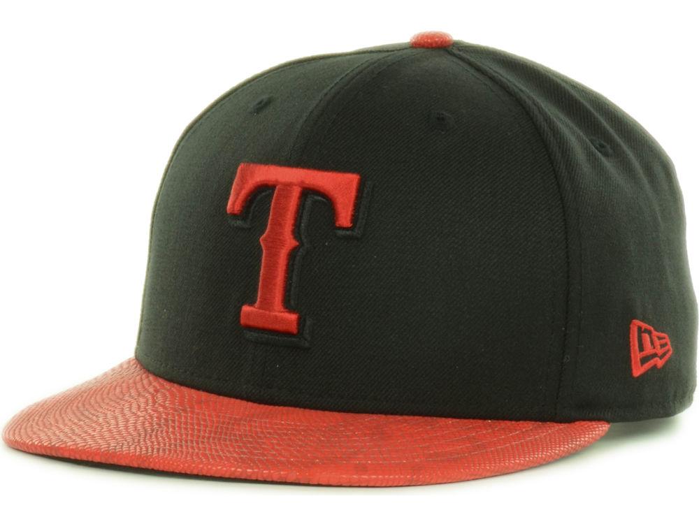 4f003ac3cf4 Texas Rangers New Era MLB Snake Thru 9FIFTY Strapback Cap