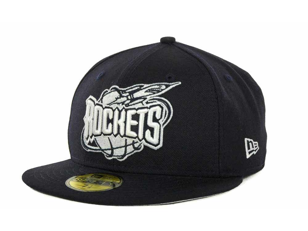 2c2541a587d Houston Rockets New Era NBA Hardwood Classics League Basic 59FIFTY Cap