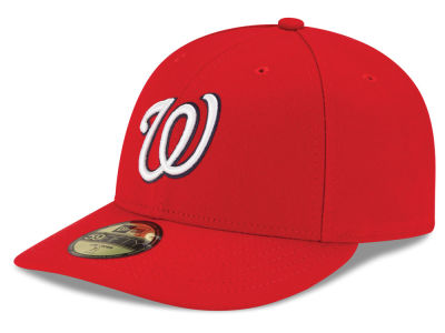 Washington Nationals New Era MLB Low Profile AC Performance 59FIFTY Cap