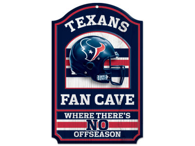 Houston Texans 11x17 Wood Sign