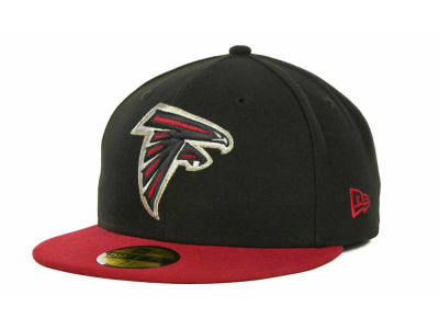 Atlanta Falcons New Era NFL Black Team 59FIFTY Cap
