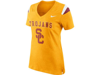 USC Trojans Nike NCAA Women's Fan V-Neck T-Shirt