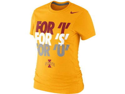 Iowa State Cyclones Nike NCAA Womens Local T-Shirt 2013