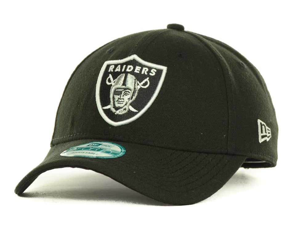 a5465d067dc Oakland Raiders New Era NFL League 9FORTY Cap