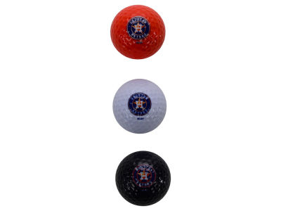 Houston Astros 3-pack Golf Ball Set