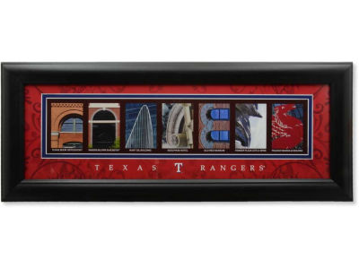 Houston Texans NFL Letter Art