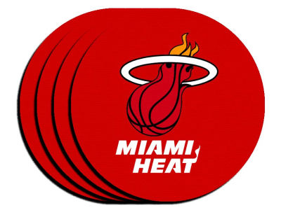 Miami Heat 4-pack Neoprene Coaster Set