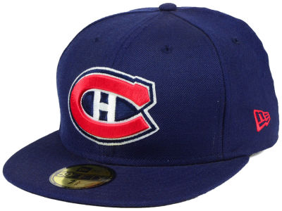 Montreal Canadiens New Era NHL Custom Collection 59FIFTY Cap