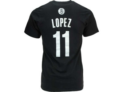 Brooklyn Nets Brook Lopez adidas NBA Men's Player T-Shirt