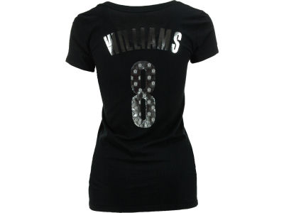 Brooklyn Nets Deron Williams NBA Womens Premium Vneck Player T-Shirt