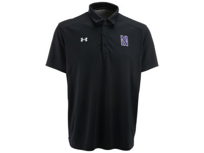 Northwestern Wildcats Under Armour NCAA Men's Sideline Polo Shirt 2013