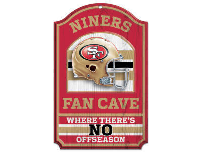 San Francisco 49ers 11x17 Wood Sign