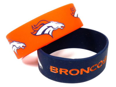 Denver Broncos 2-pack Wide Bracelet