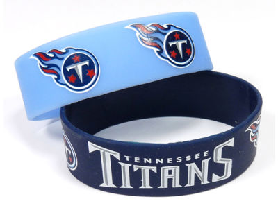Tennessee Titans 2-pack Wide Bracelet