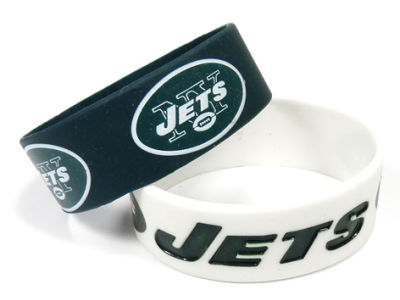 New York Jets 2-pack Wide Bracelet