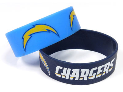 Los Angeles Chargers 2-pack Wide Bracelet
