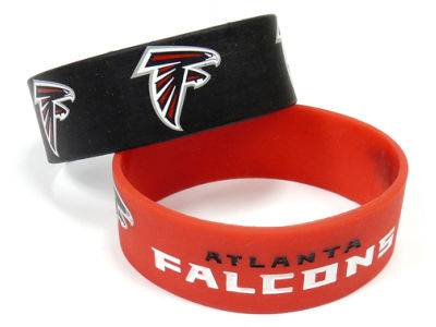 Atlanta Falcons 2-pack Wide Bracelet