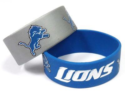 Detroit Lions 2-pack Wide Bracelet
