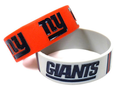 New York Giants 2-pack Wide Bracelet
