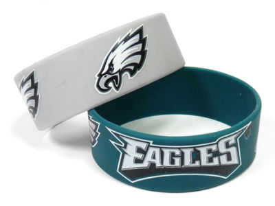 Philadelphia Eagles 2-pack Wide Bracelet