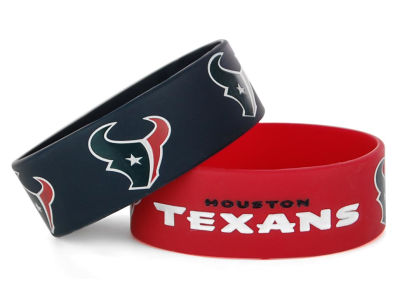 Houston Texans 2-pack Wide Bracelet