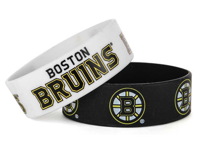 Boston Bruins 2-pack Wide Bracelet