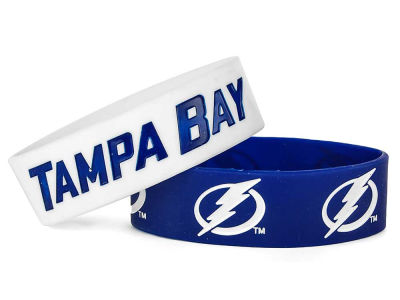 Tampa Bay Lightning 2-pack Wide Bracelet