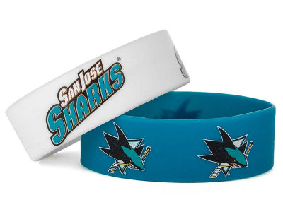 San Jose Sharks 2-pack Wide Bracelet