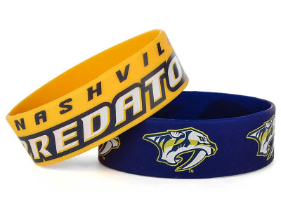 Nashville Predators 2-pack Wide Bracelet