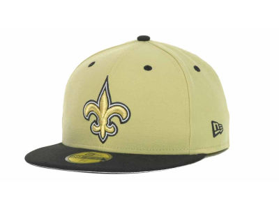 New Orleans Saints New Era NFL 2 Tone 59FIFTY Cap