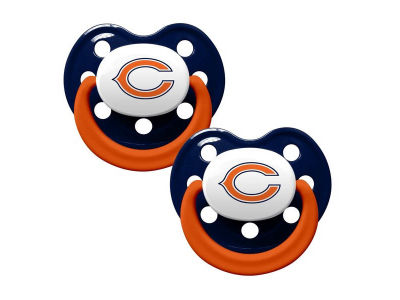 Chicago Bears 2-pack Pacifier Set