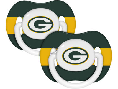 Green Bay Packers 2-pack Pacifier Set