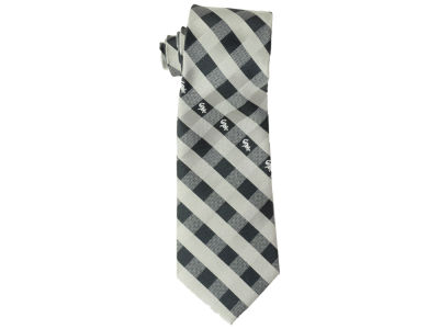 Chicago White Sox Polyester Checked Tie