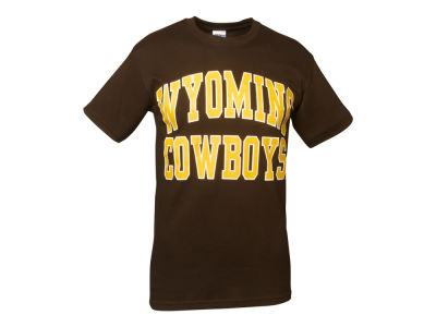 Wyoming Cowboys NCAA Bold Arch T-Shirt