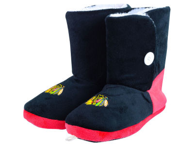 Chicago Blackhawks La Tilda Ladies Glitter Slippers
